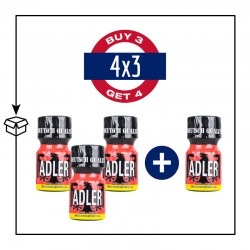 PACK 4 POPPERS ADLER 9ML