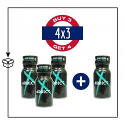 PACK 4 POPPERS ADDICT 13ML