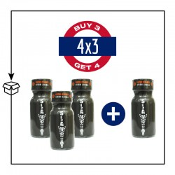 PACK 4 POPPERS SLAVE 13ML