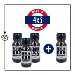 PACK 4 POPPERS BERLIN XXX HARDCORE 25ML