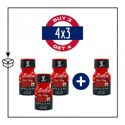 PACK 4 POPPERS AMSTERDAM SPECIAL 10ML