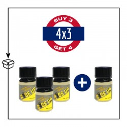 PACK 4 POPPERS RISE UP 24ML