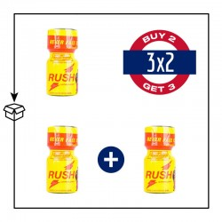 PACK 3 POPPERS RUSH ORIGINAL PWD 9ML