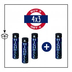 PACK 4 POPPERS HIGHRISE TALL 30ML