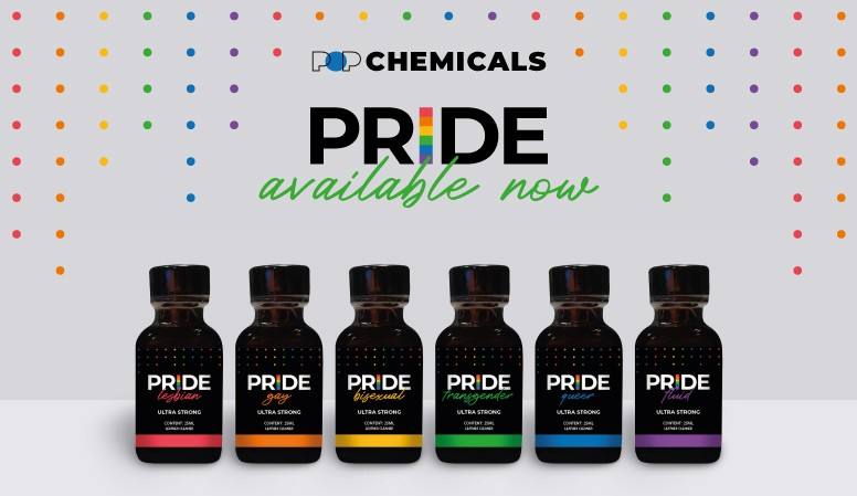 Now Available Popadelic Pride